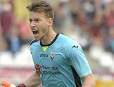 Le gardien de la Fiorentina fait une Penneteau...