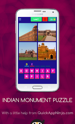 Puzzle on Indian Monument