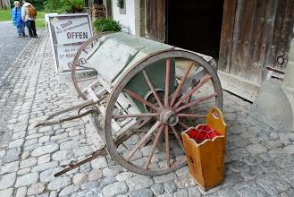 Photo: Eine alte Sämaschine