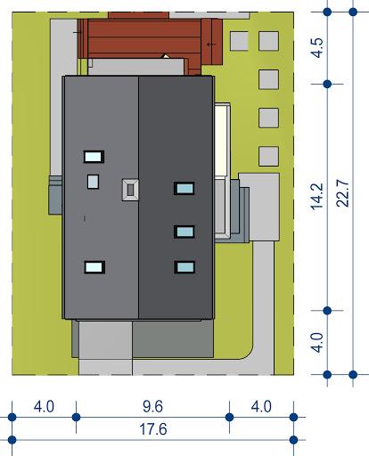 Domidea 50 d40 w4 - Sytuacja