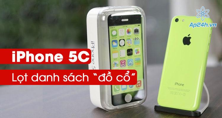 iPhone 5C trở thành đồ cổ