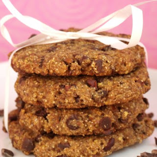 Shockingly Healthy Chewy Chocolate Chip Cookies.