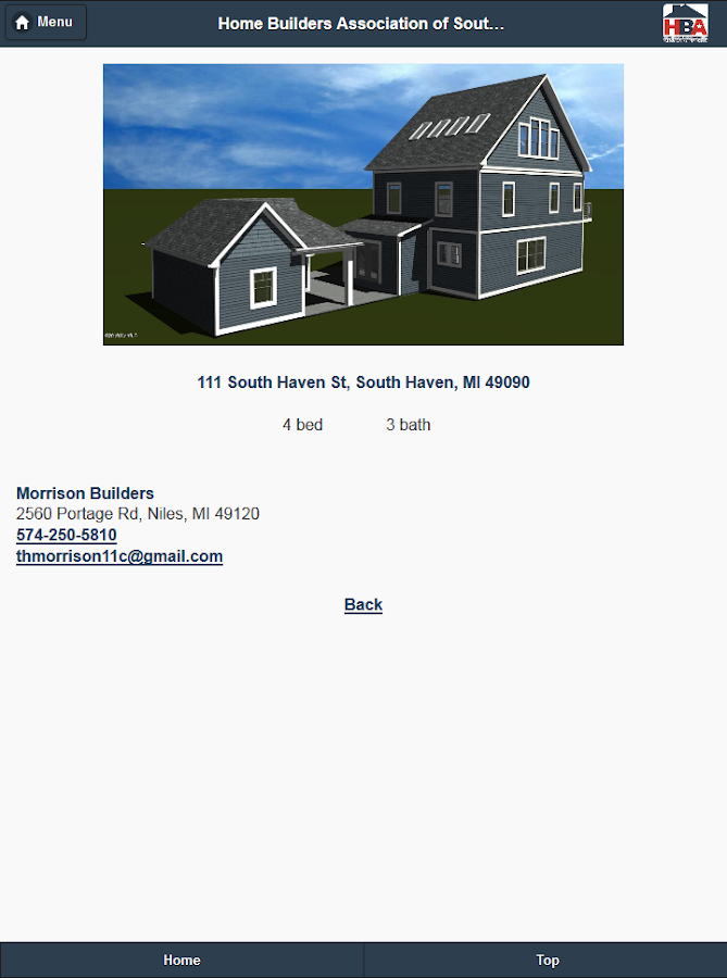 Home Builders Association SWM- screenshot