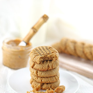 Soft and Chewy Gluten-Free Peanut Butter Cookies {Low Sugar}.