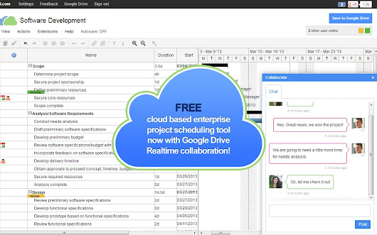 Gantter for Google Drive