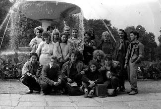Photo: 1988 Warszawa, kl 3b ceramicy, Barbara Szota, Nina Burda