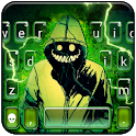Creepy Devil Smile Keyboard Theme icon