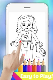 Easy Drawing Book for Lego Friends by Fans