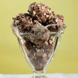 Chocolate Malted Ice Cream Bonbons.