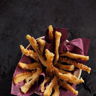 Crispy Pork Cracklings for Saint Dimitrius Day