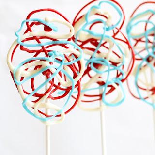 4th of July lollipops