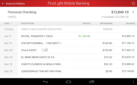 FirstLight Mobile Banking screenshot 11