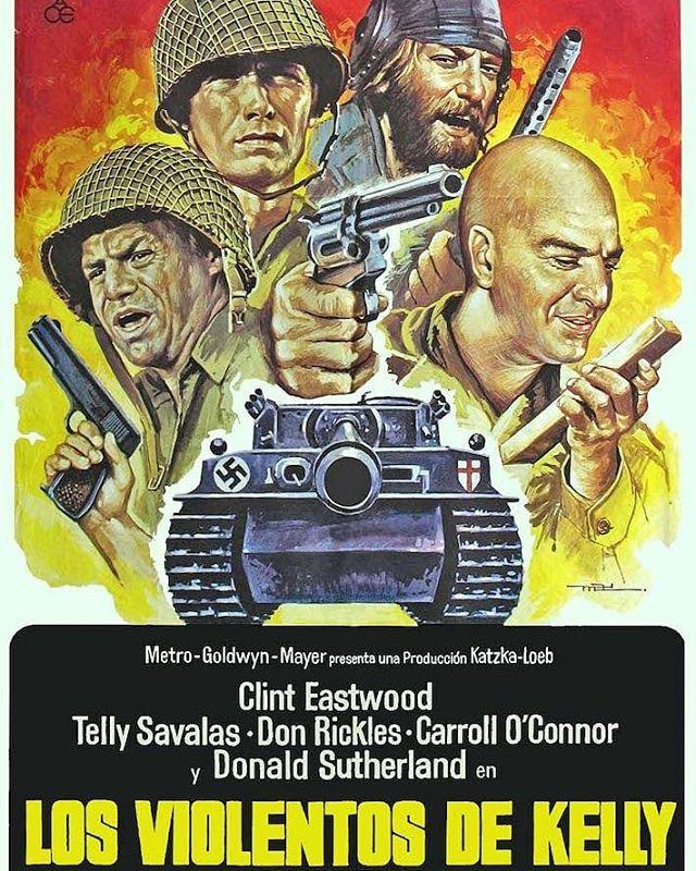 Los violentos de Kelly (1970, Brian G. Hutton)