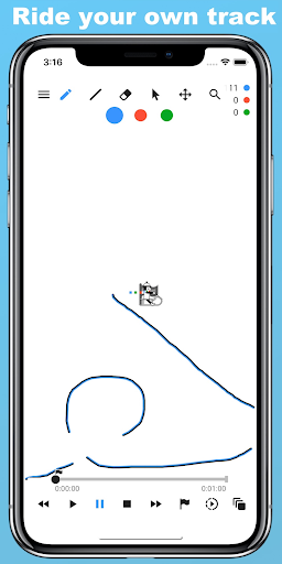 Screenshot for Line Rider in United States Play Store