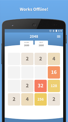 2048 Online · Swipe Game - screenshot