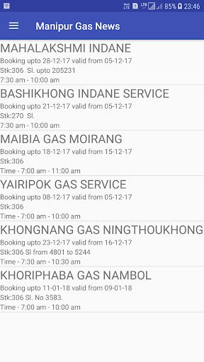 Manipur Gas News 1.03 screenshots 5