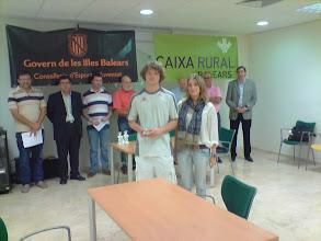 Photo: IV Tancat de Mestres Trofeu Illes Balears. Entrega de premios