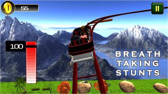Roller Coaster Game 3D: Theme Park Rides Simulator - náhled