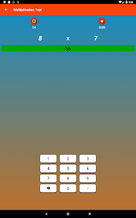 Multiplication Tables Math Game & Four Operations- screenshot thumbnail
