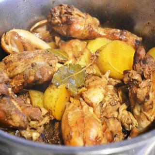 Philippine Chicken & Pork Adobo.
