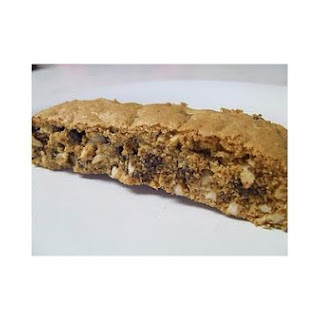 Gluten and Dairy Free Chocolate Chip Almond Biscotti.