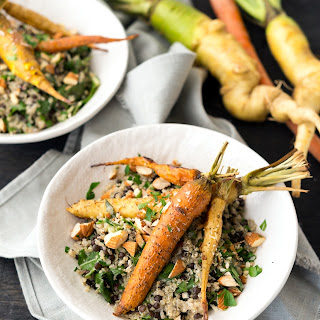 Roasted Carrots & Creamy Quinoa