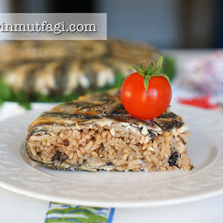 Baked Anchovy Pilaf.