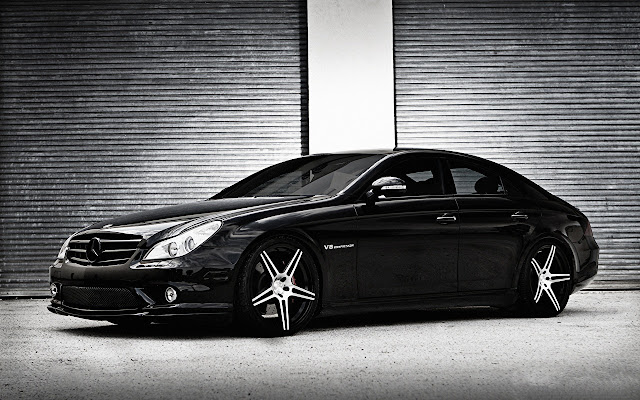 Benz CLS Class Themes & New Tab