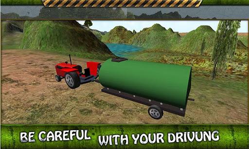 拖拉机水转运3D
