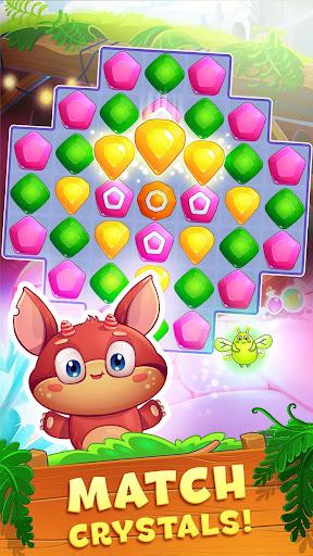 Crystal Crunch: New Match 3 Puzzle | Swap Gems 1.6.1 screenshots 1