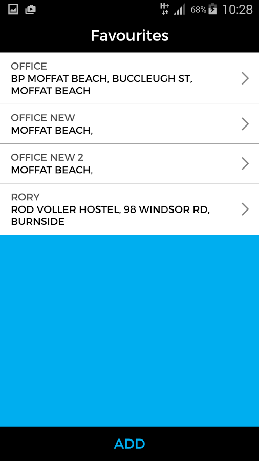Sunshine Coast Cabs- screenshot