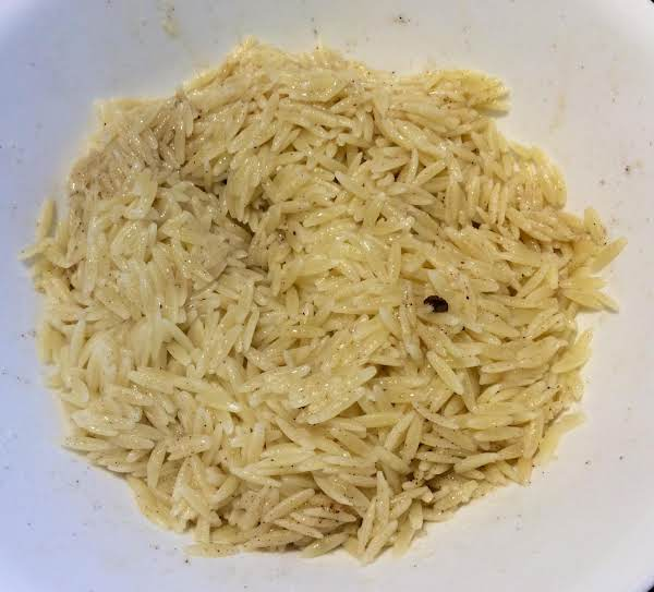Orzo With Browned Butter Sauce