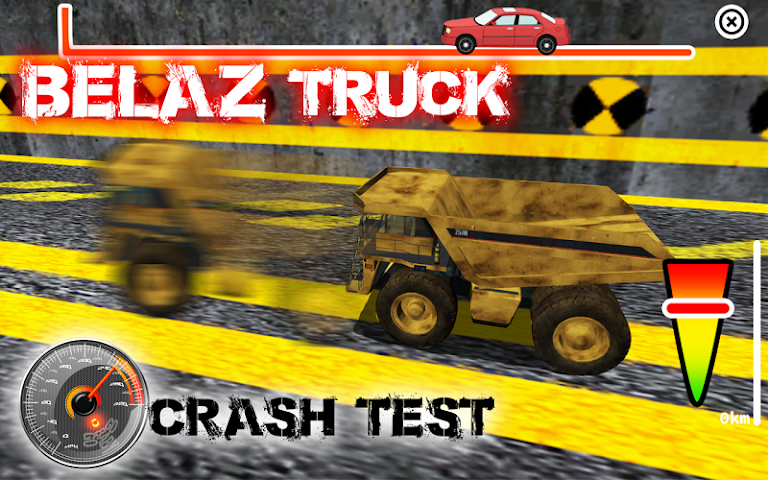 android BELAZ Truck Crash Test Screenshot 10