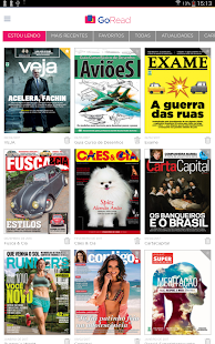Go Read - Revistas Digitais- screenshot thumbnail