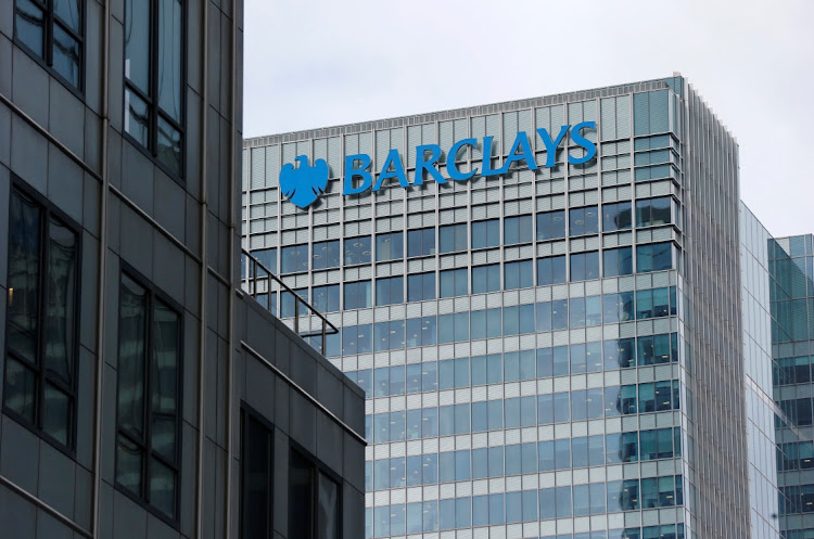 A Barclays bank office is seen at Canary Wharf in London, Britain May 19, 2015. Picture: REUTERS / SUZANNE PLUNKETT