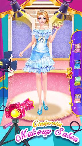 ud83dudc84ud83dudc57Cinderella Fashion Salon - Makeup & Dress Up screenshots 24