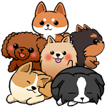 Cute Dog's Life Icon