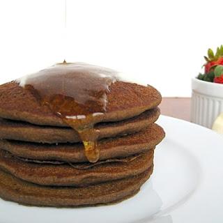 Overnight Gluten-Free Buckwheat Pancakes.
