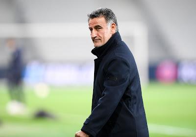 """Christophe Galtier est heureux: """"Revenir au score contre Milan..."""""""