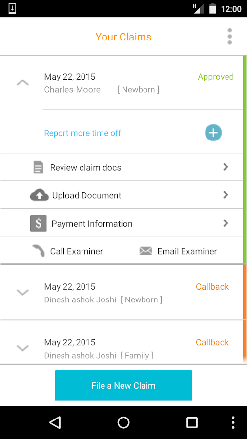 Matrix eServices Mobile- screenshot