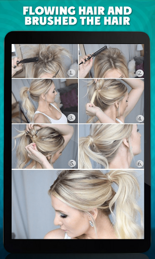 Ponytails Step By Step