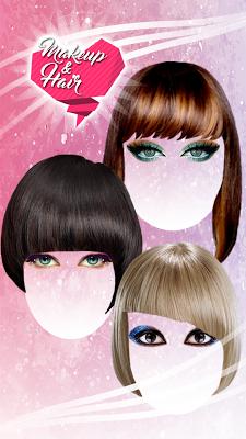 Makeup & Hair Salon Pic Editor - screenshot