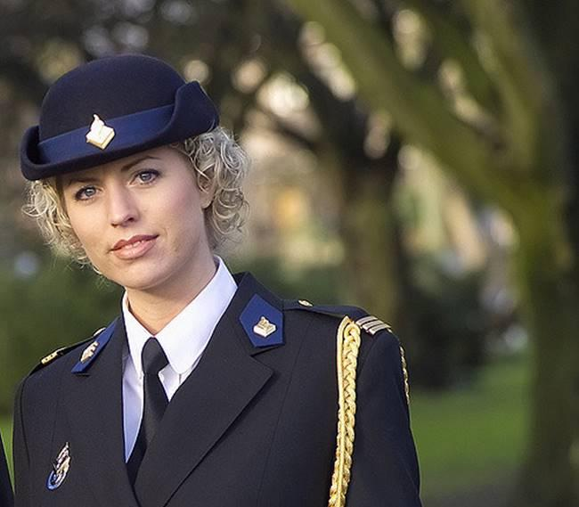 The most beautiful police girls from Holland