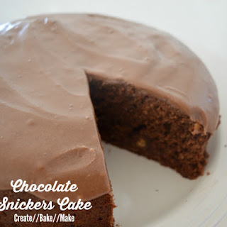 Chocolate Snickers Cake – Fabulous Foodie Fridays #18