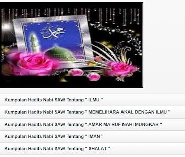 Kumpulan Hadits Nabi Muhammad Saw 1 0 Hileli Apk Indir Mod Download