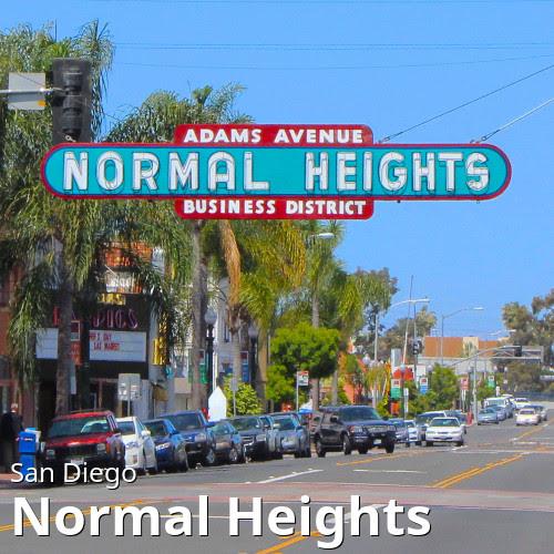 San Diego's Normal Heights neighborhood