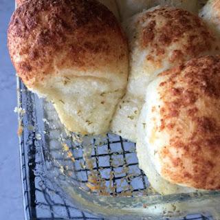Easy Garlic Parmesan Rolls.