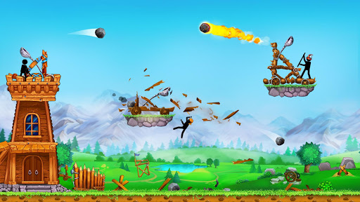 The Catapult 2 u2014 Grow your castle tower defense 3.1.0 screenshots 1