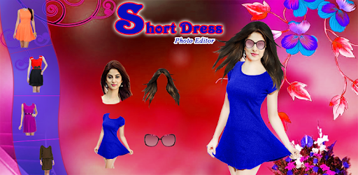 Girls Short Dress Photo Suit - Photo Editor
