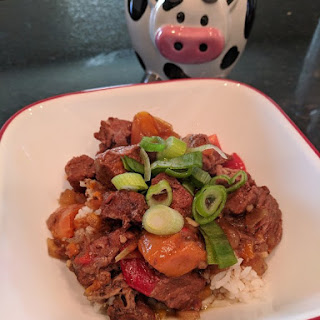 Slow Cooker Beef & Bell Pepper Recipe